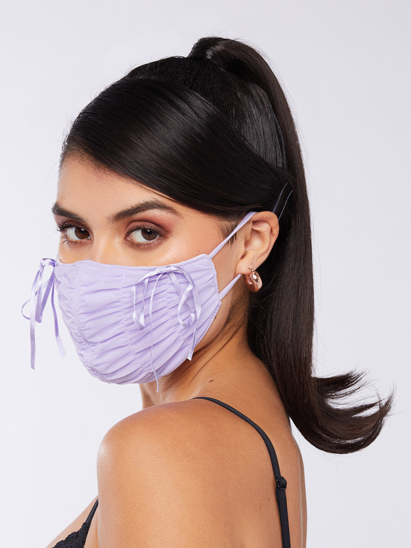 Xtra Ruched Face Mask