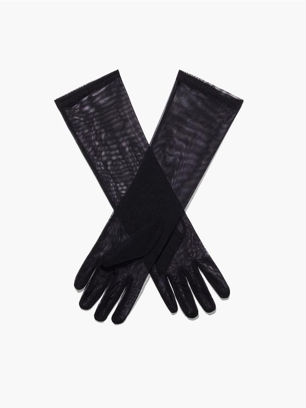 Bad Behavior Mesh Gloves (1X-3X)