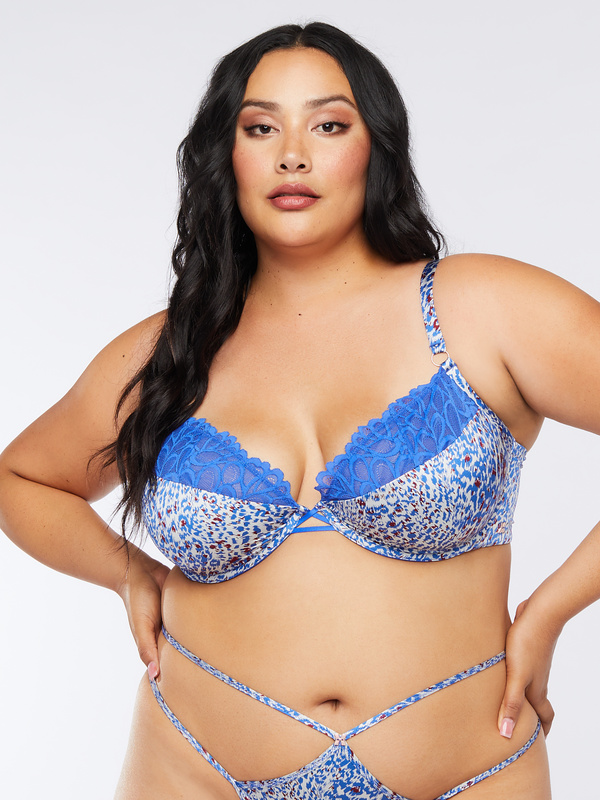 Savage Not Sorry Half Cup Bra with Lace