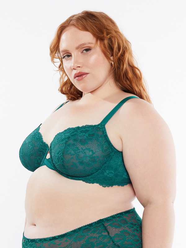 NEW Floral Lace Unlined Bra