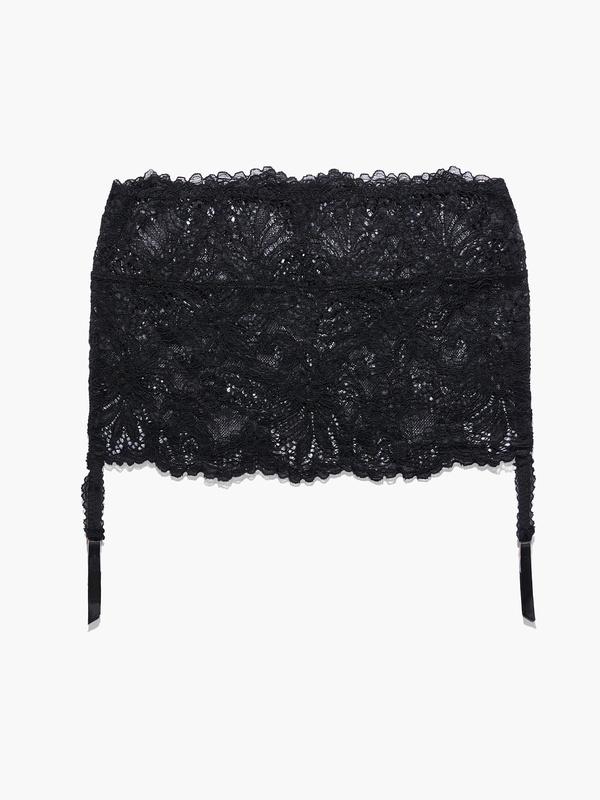 Romantic Corded Lace Garter Skirt