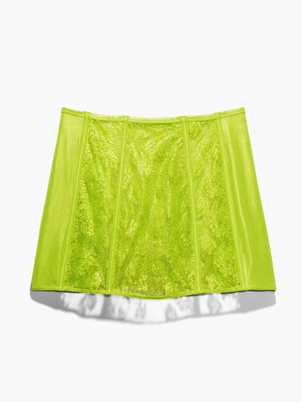 Caged Lace Skirt