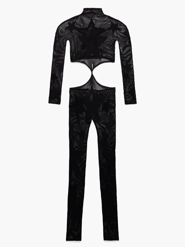 Shining Star Front-Twist Catsuit