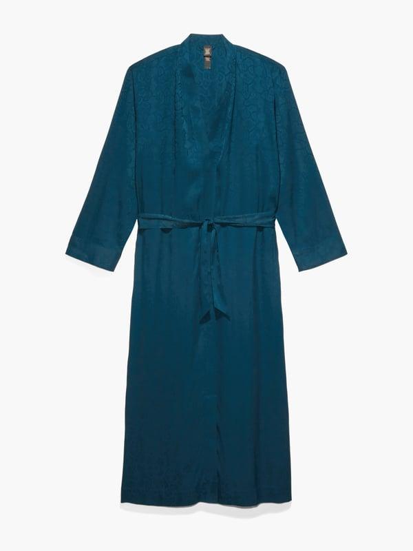 Savage X Satin Jacquard Long Robe