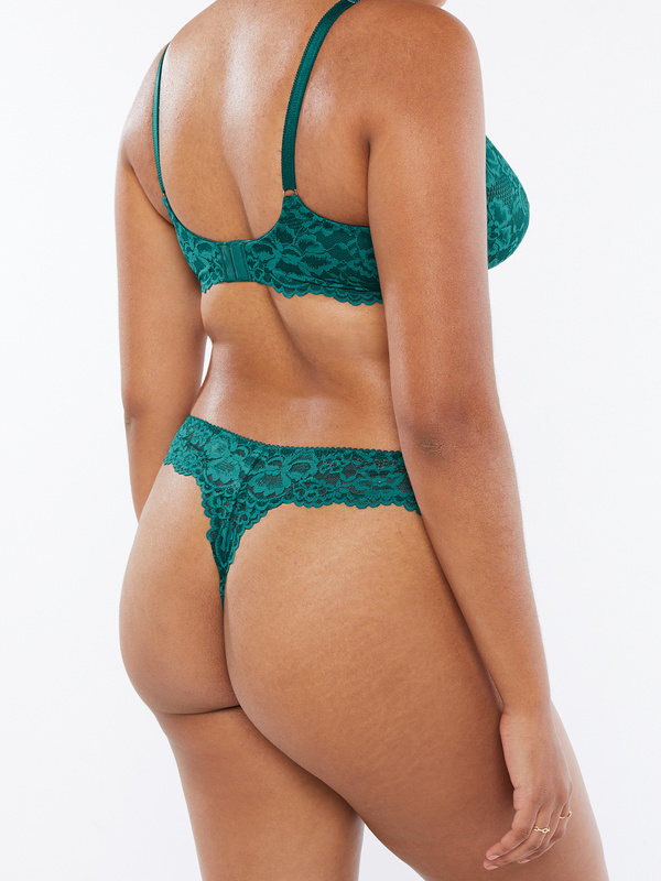 NEW Floral Lace Thong