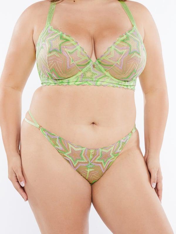 Shining Star Lace String Bikini