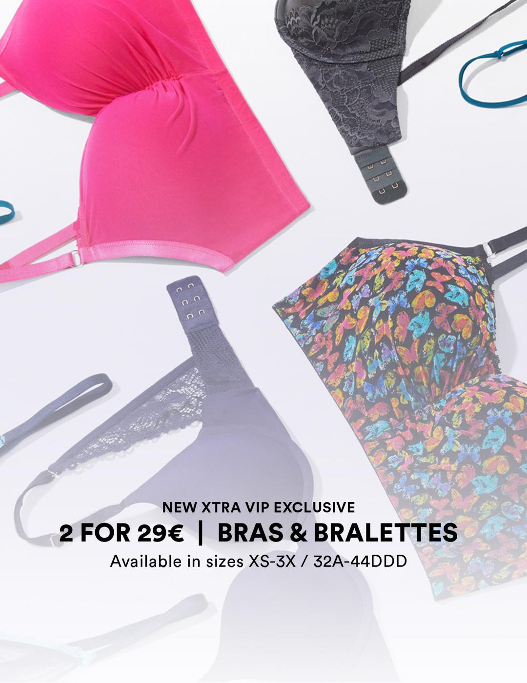 2 For $29   Bras & Bralettes