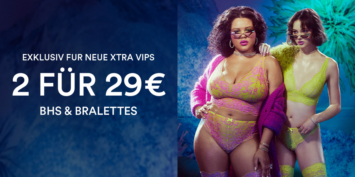 New Xtra VIP Xclusive | 2 For $29 Bras & Bralettes + Free Shipping