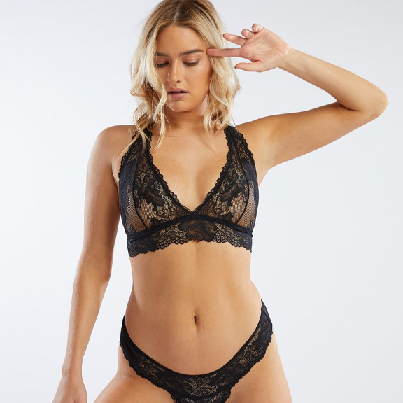 Scalloped Lace Bralette | New VIP Offer: 2 for $29