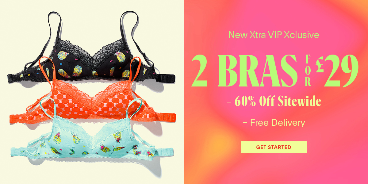 Bras: 2 for £29 + Free Delivery